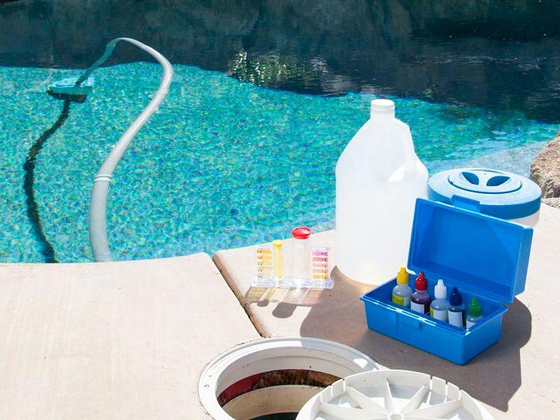 Productos para piscinas en Espejo