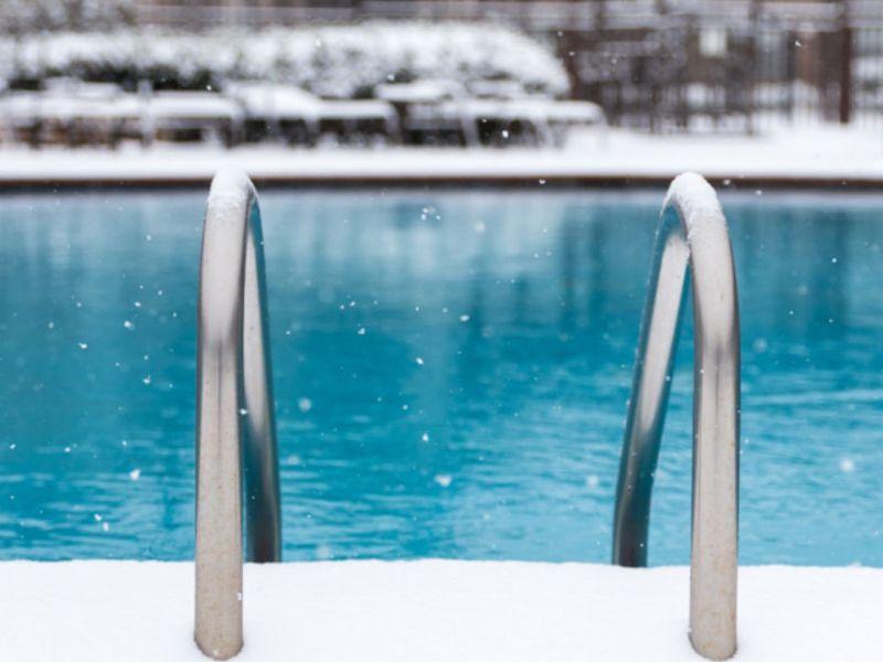 Como mantener las piscinas en invierno